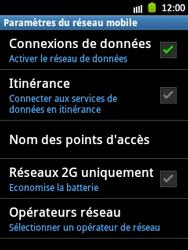 Samsung S5300 Galaxy Pocket - Réseau - utilisation à l'étranger - Étape 9