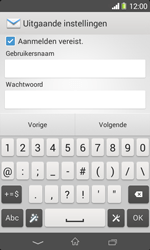 Sony D2005 Xperia E1 - E-mail - Account instellen (POP3 zonder SMTP-verificatie) - Stap 13