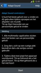 Samsung I9505 Galaxy S IV LTE - Adapt Sound - Adapt Sound instellen - Stap 7