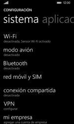 Nokia Lumia 635 - Red - Seleccionar una red - Paso 4