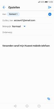 Huawei Mate 10 Pro - E-mail - hoe te versturen - Stap 7