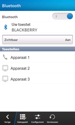 BlackBerry Z10 - Bluetooth - headset, carkit verbinding - Stap 7