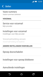 HTC One M9 (Model 0PJA100) - Voicemail - Handmatig instellen - Stap 11