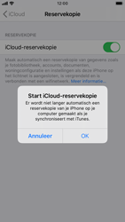 Apple iphone-6s-met-ios-13-model-a1688 - Instellingen aanpassen - Back-up maken in je account - Stap 22
