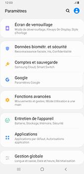 Samsung Galaxy S9 Plus - Android Pie - Données - créer une sauvegarde avec votre compte - Étape 4