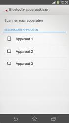 Sony C6903 Xperia Z1 - Contactgegevens overzetten - delen via Bluetooth - Stap 12