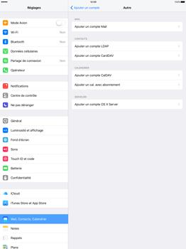 Apple iPad Pro 12.9 (1st gen) - iOS 9 - E-mail - Configuration manuelle - Étape 6