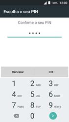 Alcatel Pop 3 - Segurança - Como ativar o código de bloqueio do ecrã -  12