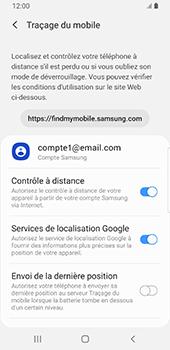 Samsung Galaxy S9 Android Pie - Appareil - configurer Localiser mon appareil - Étape 8