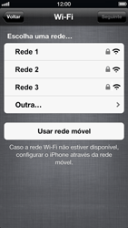 Apple iPhone iOS 6 - Primeiros passos - Como ativar seu aparelho - Etapa 8
