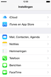 Apple iPhone 4S met iOS 8 (Model A1387) - E-mail - Handmatig instellen - Stap 4