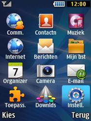 Samsung B2710 Xcover 271 - Voicemail - Handmatig instellen - Stap 3