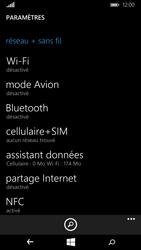 Microsoft Lumia 640 - Wifi - configuration manuelle - Étape 3