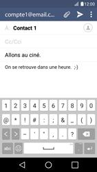 LG K4 - E-mails - Envoyer un e-mail - Étape 10