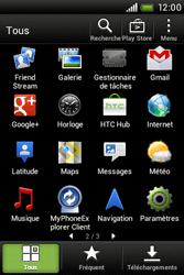 HTC A320e Desire C - Messagerie vocale - Configuration manuelle - Étape 3