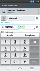 LG G2 - Contact, Appels, SMS/MMS - Ajouter un contact - Étape 6
