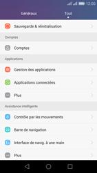 Huawei Honor 5X - Appareil - Réinitialisation de la configuration d
