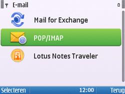 Nokia E5-00 - E-mail - handmatig instellen - Stap 12