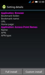 Alcatel OT-4033X Pop C3 - Internet - Automatic configuration - Step 6