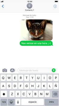 Apple iPhone 7 Plus iOS 11 - Mensajería - Escribir y enviar un mensaje multimedia - Paso 16