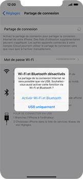 Apple iPhone XS Max - Internet - comment configurer un point d'accès mobile - Étape 7