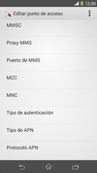 Sony Xperia M2 - Mensajería - Configurar el equipo para mensajes multimedia - Paso 10