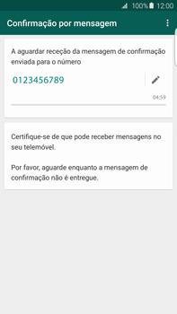 Samsung Galaxy S6 Edge + - Aplicações - Como configurar o WhatsApp -  12