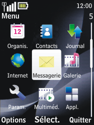 Nokia 2730 classic - MMS - envoi d'images - Étape 2