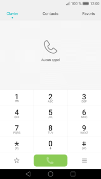 Huawei Mate 8 - Messagerie vocale - Configuration manuelle - Étape 3