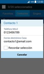 Samsung Galaxy Core Prime - Mensajería - Escribir y enviar un mensaje multimedia - Paso 7