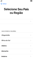 Apple iPhone 6 - iOS 12 - Primeiros passos - Como ativar seu aparelho - Etapa 6