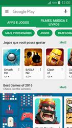 Samsung Galaxy A5 - Aplicativos - Como baixar aplicativos - Etapa 4