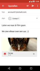 Android One GM6 - E-mail - hoe te versturen - Stap 15