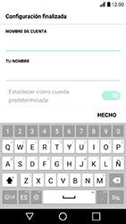 LG K10 (2017) - E-mail - Configurar Yahoo! - Paso 8
