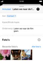Apple iPhone SE - iOS 13 - E-mail - Bericht met attachment versturen - Stap 11