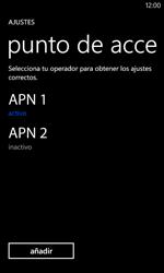 Nokia Lumia 520 - Mensajería - Configurar el equipo para mensajes multimedia - Paso 16
