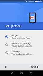Huawei Y6 II Compact - E-mail - Manual configuration (gmail) - Step 8