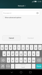 Huawei Ascend G7 - WiFi and Bluetooth - Manual configuration - Step 7