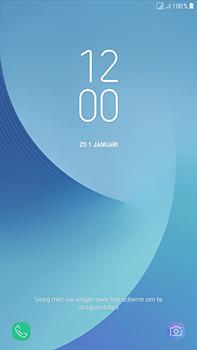 Samsung Galaxy J7 (2017) - Device maintenance - Een soft reset uitvoeren - Stap 6