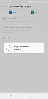 Samsung Galaxy J6 - Rede móvel - Como selecionar o tipo de rede adequada - Etapa 13