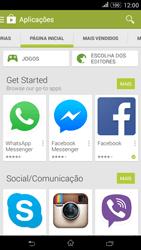 Sony Xperia E4 - Aplicações - Como pesquisar e instalar aplicações -  5