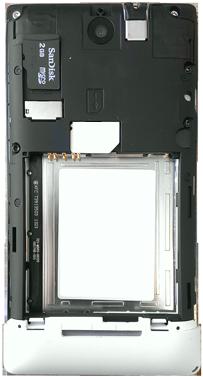 Sony Xperia E - Primeros pasos - Quitar y colocar la batería - Paso 5