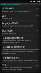 Sony Xpéria S - Internet et connexion - Accéder au réseau Wi-Fi - Étape 5