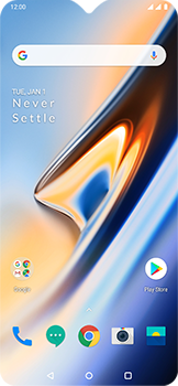 OnePlus 6T - Internet - Manual configuration - Step 1