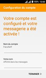 Alcatel U3 - E-mails - Ajouter ou modifier un compte e-mail - Étape 22