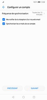 Huawei P20 lite - E-mails - Ajouter ou modifier un compte e-mail - Étape 18