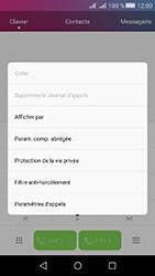 Huawei Y6 II Compact - Messagerie vocale - configuration manuelle - Étape 5