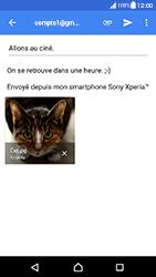 Sony Xperia XA - Android Nougat - E-mail - envoyer un e-mail - Étape 15
