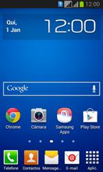 Samsung Galaxy Fresh Duos - SMS - Como configurar o centro de mensagens -  1