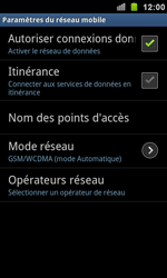 Samsung I9100 Galaxy S II - MMS - Configuration manuelle - Étape 6